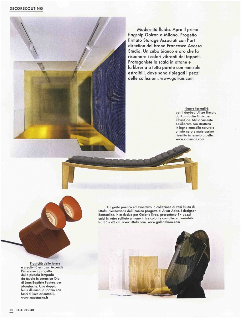 Lampada Da Studio Design press archives - golran